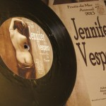 Vespero / Temple Music 'Jennifer' (originally by Faust)/ 'Pegasus' (originally by The Hollies) (2012) Fruits del Mer Records, Crustacean 35, 7""